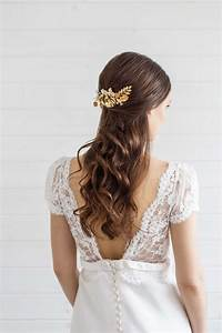 Carris Gold Bridal Hair Comb Victoria Millesime