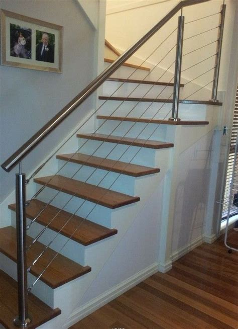 wire banister 25 best ideas about stainless steel railing on
