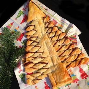 Für´s Weihnachtsbuffet: Der Nutella Tannenbaum
