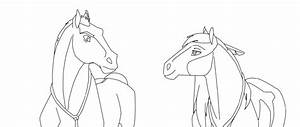 Spirit Stallion Of The Cimarron Rain Coloring Pages