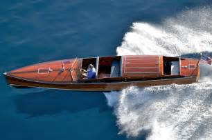 Wooden Boat Concours Lake Tahoe