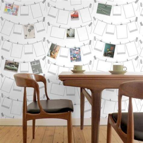 papier peint bureau inspiration déco du papier peint pour un bureau créatif