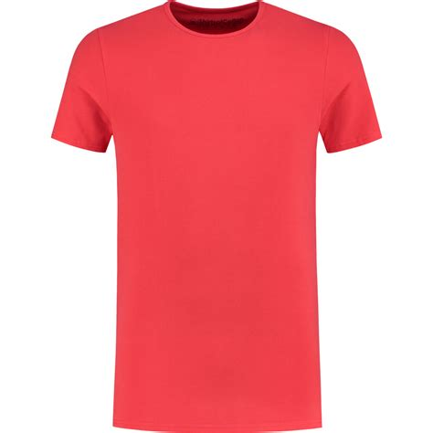 perfect fiery red crew neck  shirt crew shirtsofcotton