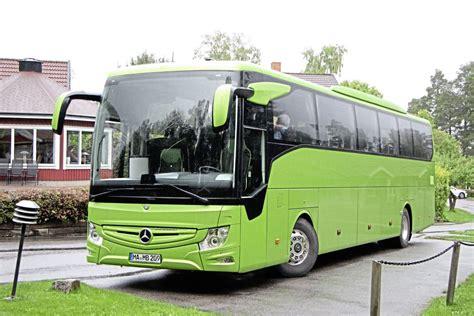 coach euro test linkoping  mercedes benz tourismo