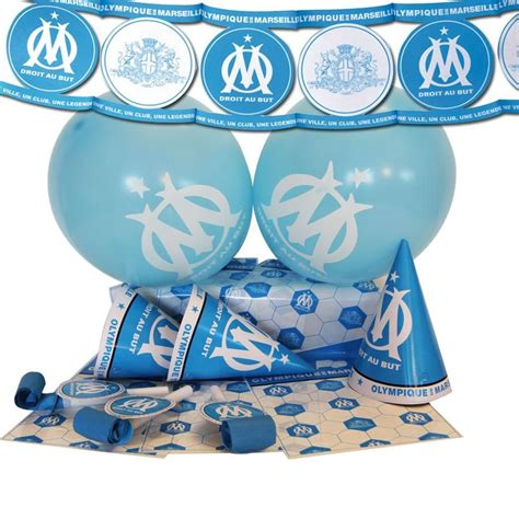 Free shipping for all orders. Kit Déco Malin - OLYMPIQUE DE MARSEILLE© http://www ...