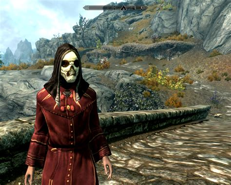 Skull Mask At Skyrim Nexus