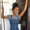 Yara Shahidi Shouts Out Her Skin Professional with Makeup ...