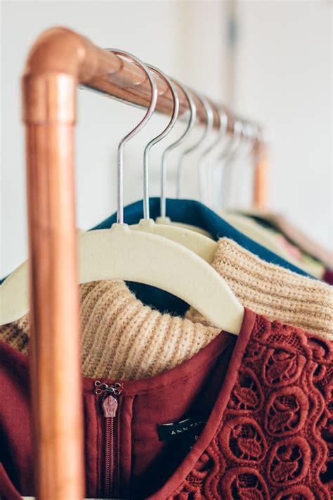 diy pipe clothing rack diy copper clothing rack