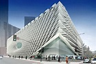 A rendering of the Broad Museum. Image courtesy Diller ...