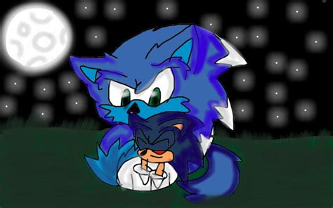 Sonic The Werehog And Sonic.exe By Darklovelasts On Deviantart