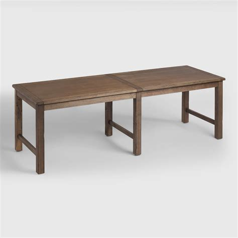 extra long dining room table distressed brown wood gulianna extra long dining table