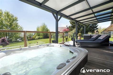 pergola veranco pour couvrir un spa