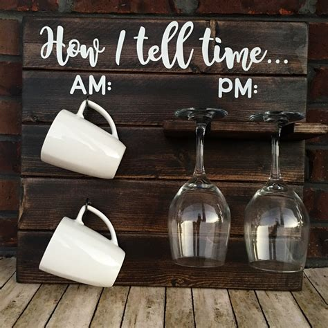 How To Tell Time How To Tell Time Coffee/Wine Rack