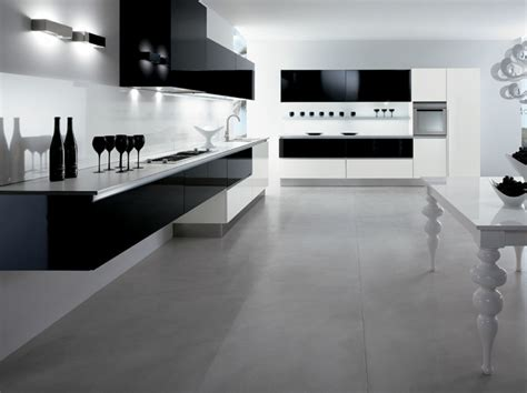 cuisine sol gris la cuisine laquée une survivance ou un hit moderne