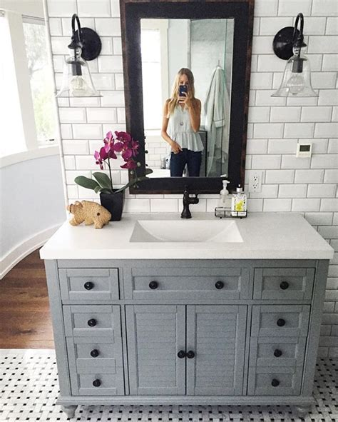 Master Bathroom Reveal  Parent's Edition In 2018