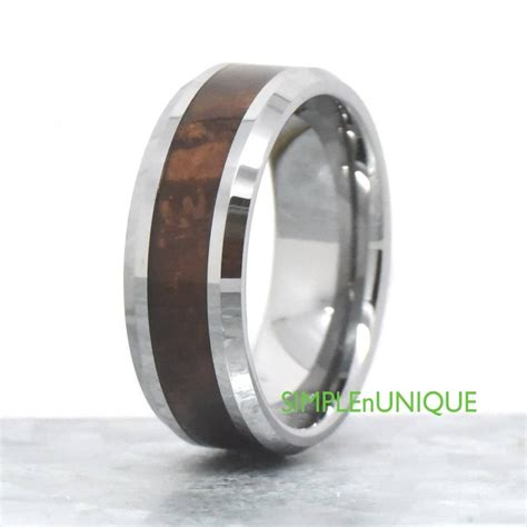 15 inspirations of s wedding bands wood inlay