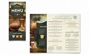 food beverage 85x11 menu templates word publisher With menu templates for publisher