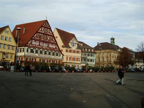 in esslingen esslingen am neckar pt 1 stadtkirche st dionys and around town in deutschland