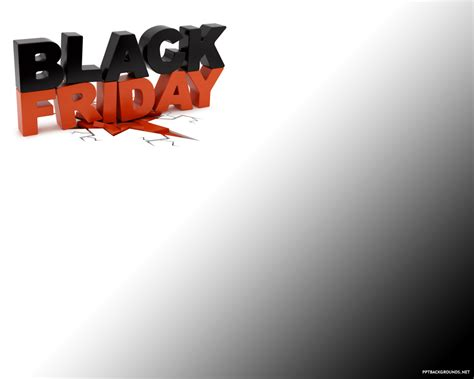 black frigay template free black friday backgrounds for powerpoint events ppt