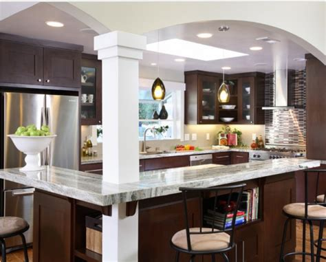 good layout small galley kitchen opened good work support