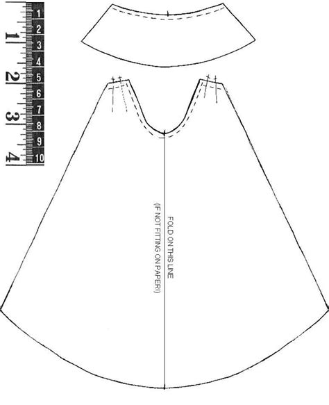 cape template pattern for capes patterns gallery
