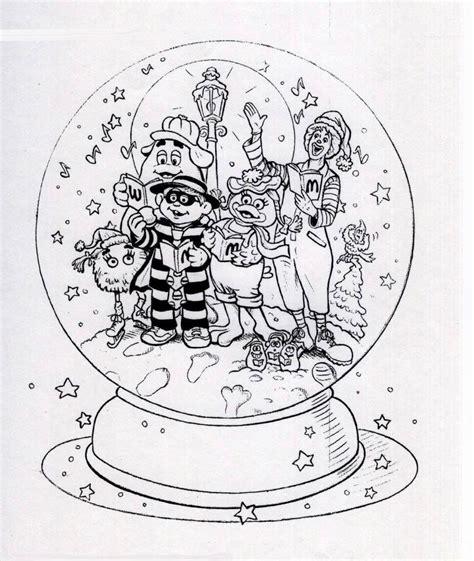mcdonaldland characters sing christmas carols