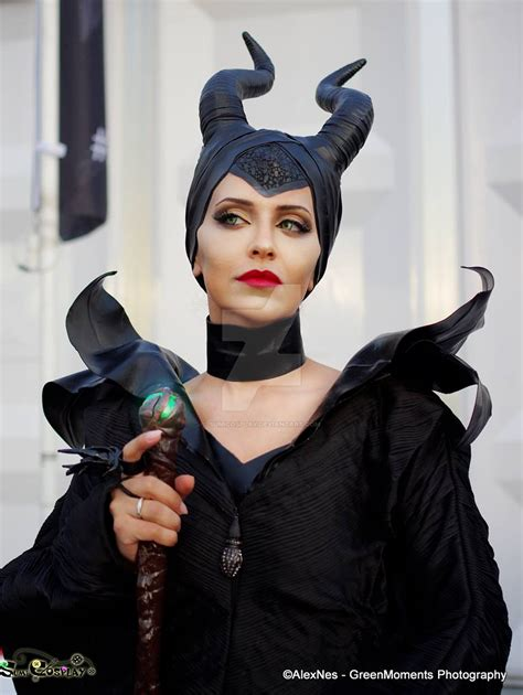 Maleficent cosplay by SumiCosplay on DeviantArt