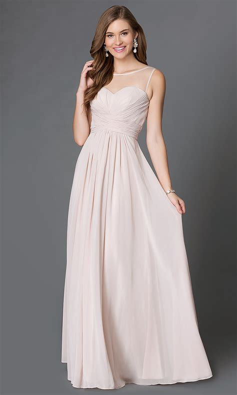 Long Corset-Back Sweetheart Prom Dress - PromGirl