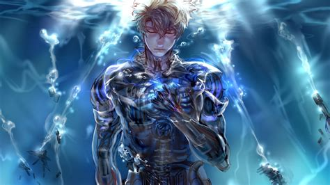 One Punch Animated Wallpaper - one punch genos wallpaper 183 free backgrounds