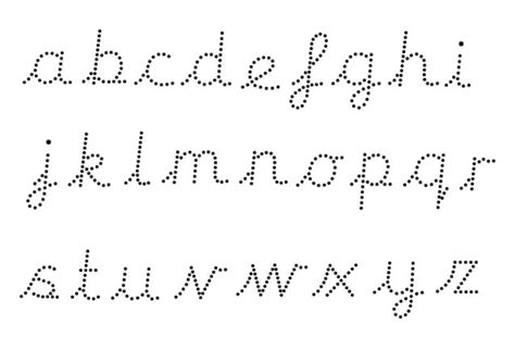 s pet editable dotted cursive letter formation