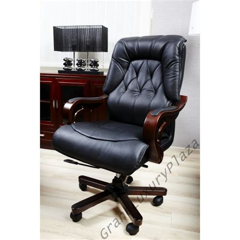 fauteuil de bureau en cuir confortable fauteuil pivotant de bureau en cuir makler