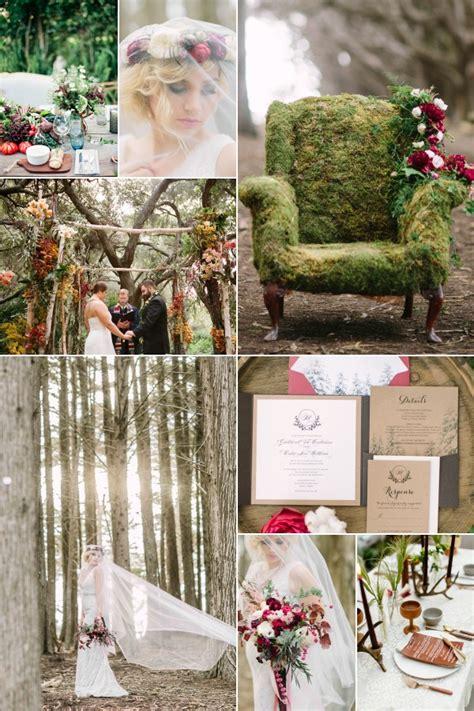 inspirational wedding ideas 206 enchanted forest diy
