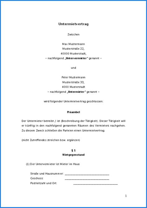 Mietvertrag Nachmieter Muster by Vorlage K 252 Ndigung Mietvertrag K 252 Ndigung Vorlage Fwptc