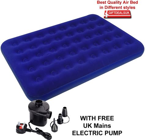 how to fix a in air mattress single flocked air bed cing