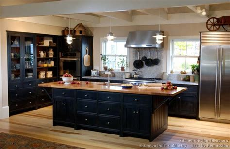 black cabinet kitchen ideas pictures of kitchens traditional black kitchen cabinets