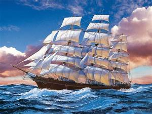 Famous Sailing Ship Paintings | ... art pictures and art ...