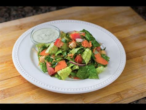 Ranch Dressing Houses Not Salads by High Protein House Salad With Non Dairy Ranch Dressing