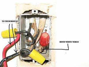 Thermostat Wiring Diagram Or Directions - Electrical