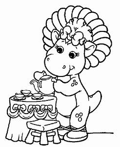 Visit Coloring-Page.net for Barney coloring pages