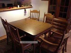 Esstisch Ausziehbar Mit 6 Stühlen : esstisch ausziehbar mit 6 st hle antik esszimmer gruppe massiv ~ Bigdaddyawards.com Haus und Dekorationen