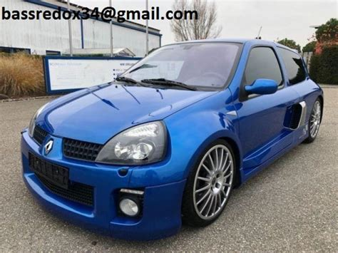 Renault Clio V6 For Sale by For Sale Renault Clio 3 0 Sport V6