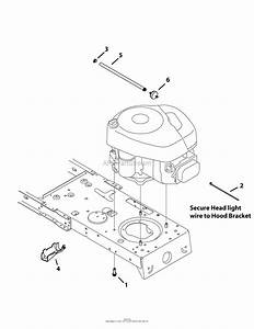 Mtd 13w2775s031  Lt4200   2012  Parts Diagram For Engine