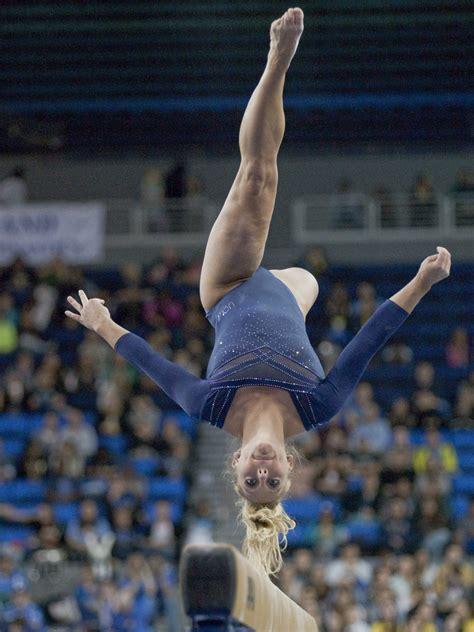 ucla gymnastics   flip  odds  ncaa championships daily bruin