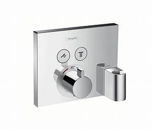 Unterputz Thermostat Dusche : hansgrohe hg ecostat select thermostat up fertigset 2 av porter chrom robinetterie de douche de ~ Frokenaadalensverden.com Haus und Dekorationen