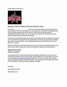 summit sponsorship letter by natural venom issuu With booster club sponsorship letters
