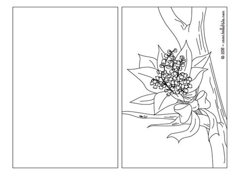 Coloring Cards by Flower Bouquet Coloring Pages Hellokids