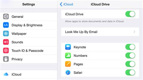 icloud login from iphone how to use icloud drive in ios 9 os x macworld uk