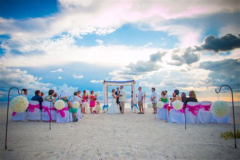 Anna Maria Island Beach Wedding Location