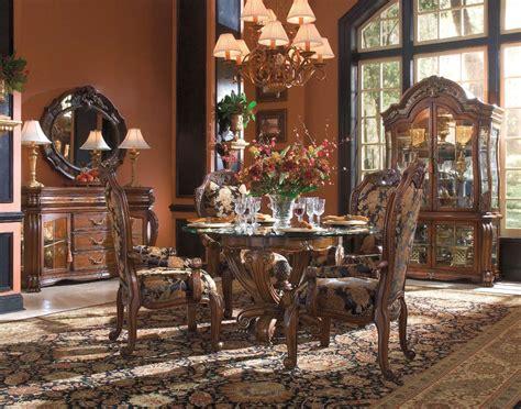 michael amini oppulente luxury formal  dining set