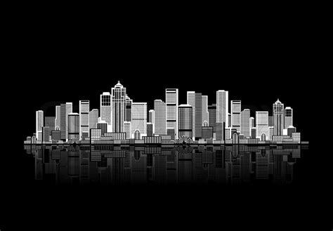 Cityscape Background Cityscape Background For Your Design Stock